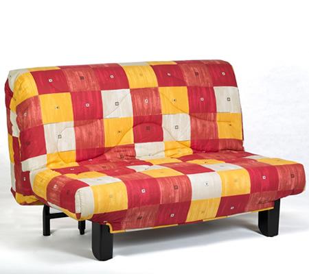 Canapea extensibila 2 locuri cadru metalic