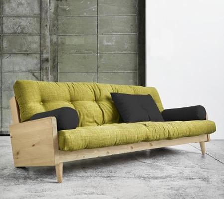 Canapea extensibila 3 locuri din lemn