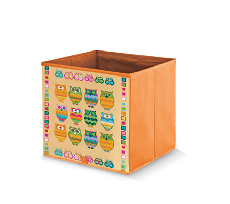 Cutie depozitare copii cu bufnite