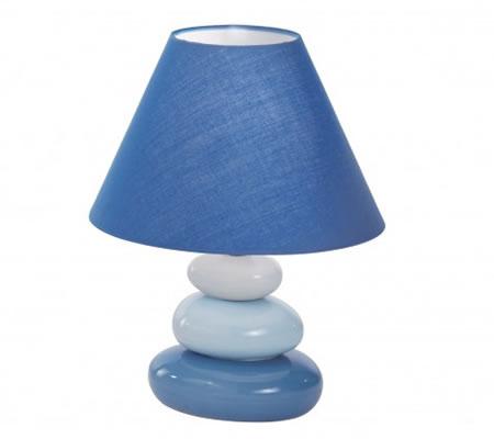 Veioza albastra din sticla de Murano